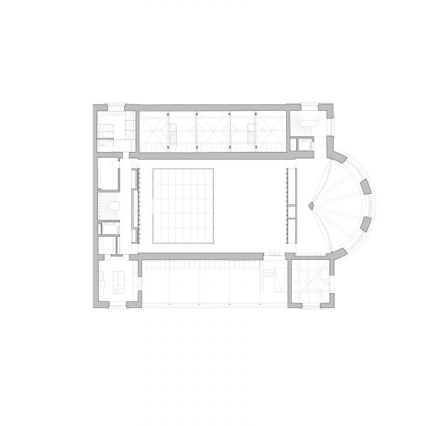 First floor plan - ANCIEN MANÈGE GENÈVE