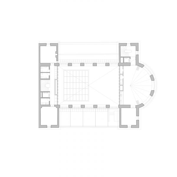 Second floor plan - ANCIEN MANÈGE GENÈVE