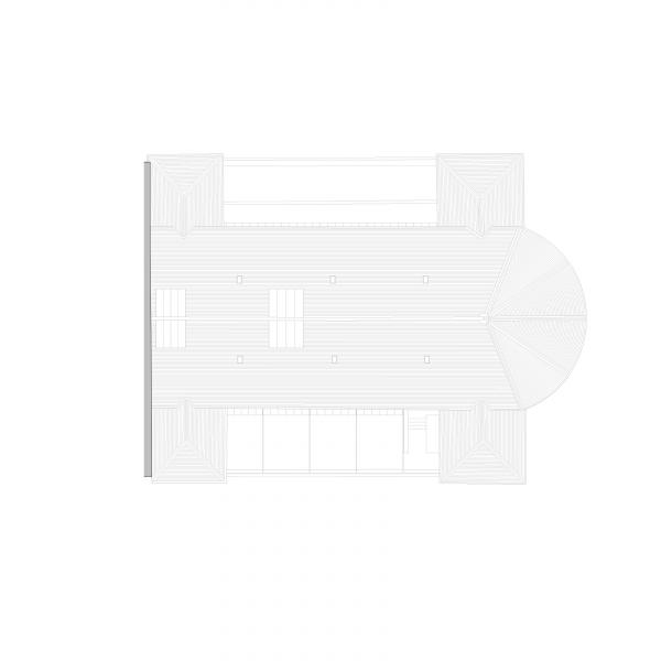 Roof plan - ANCIEN MANÈGE GENÈVE
