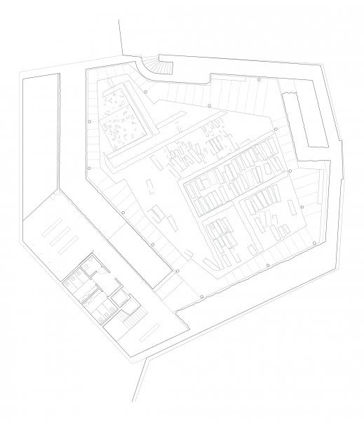 Lower level plan - BASTION SAINT ANTOINE