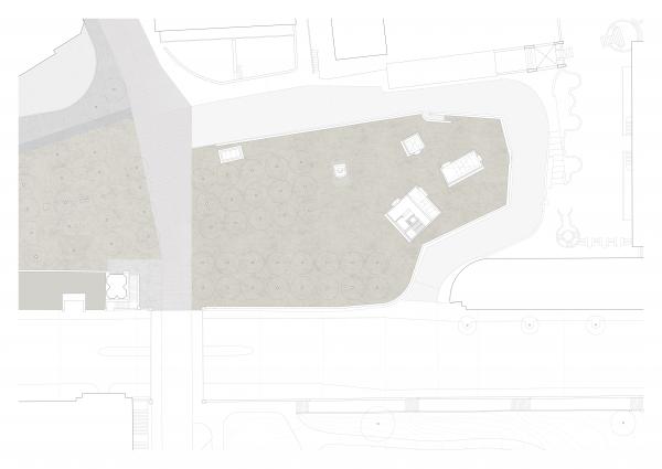 Public realm plan- BASTION SAINT ANTOINE