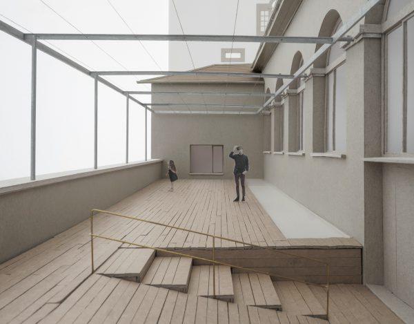 Terrace ANCIEN MANÈGE