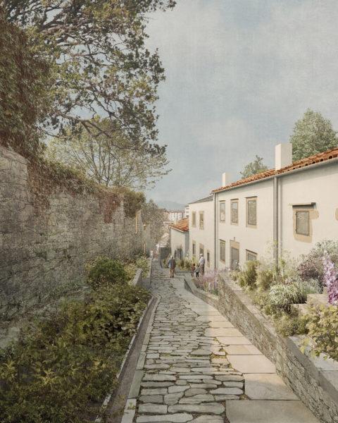 Ruela de Caramoniña, Santiago de Compostela